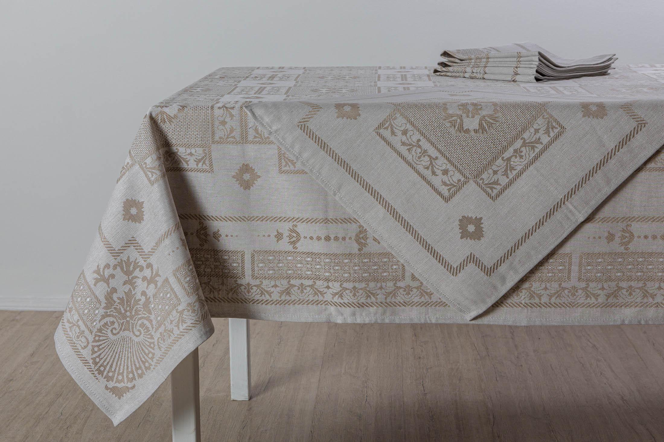 Комплект столовый Гламур 150*250